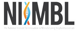 Logo of the National Institute for Innovation in Manufacturing Biopharmaceuticals (NIIMBL)